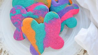 Tie Dye Sugar Cookies