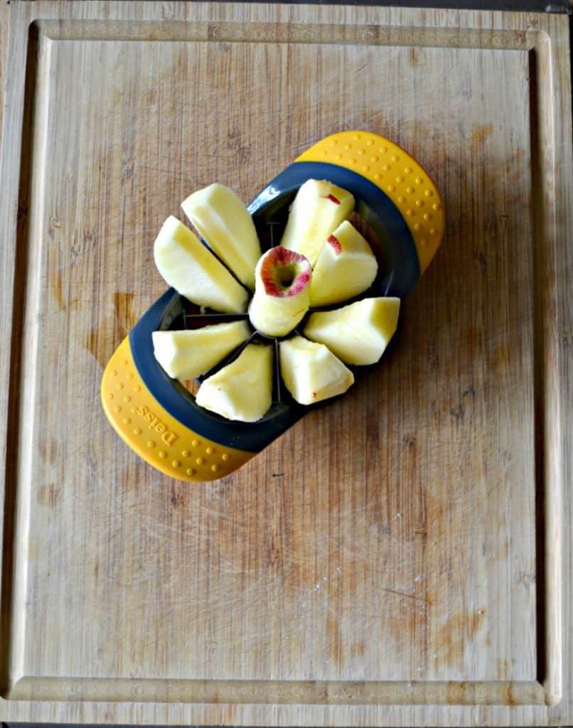 Easily slice an apple