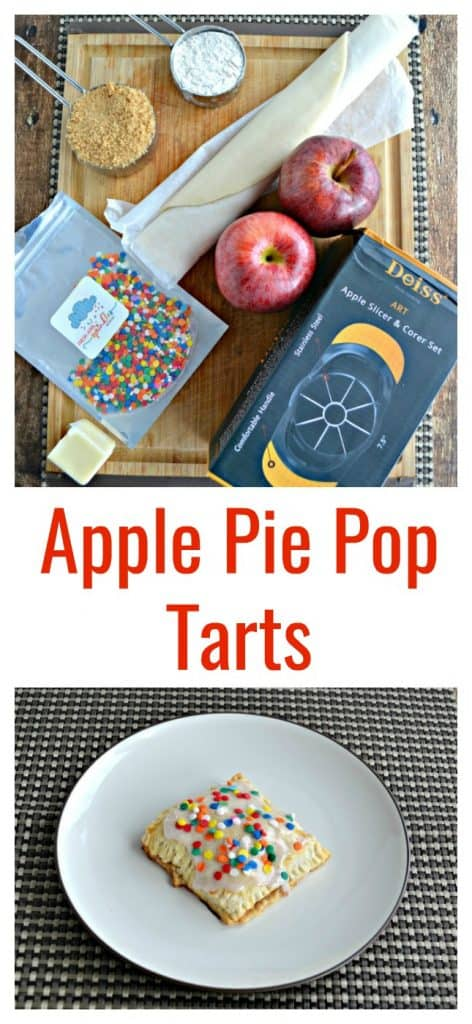 Everything you need to make Apple Pie Pop Tarts