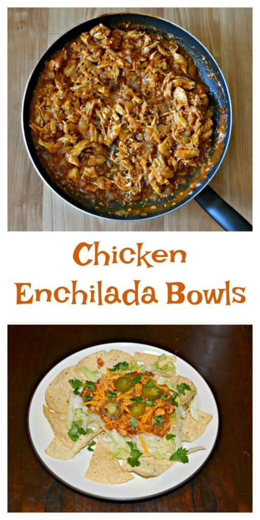 Homemade enchilada sauce for Chicken Enchilada Bowls