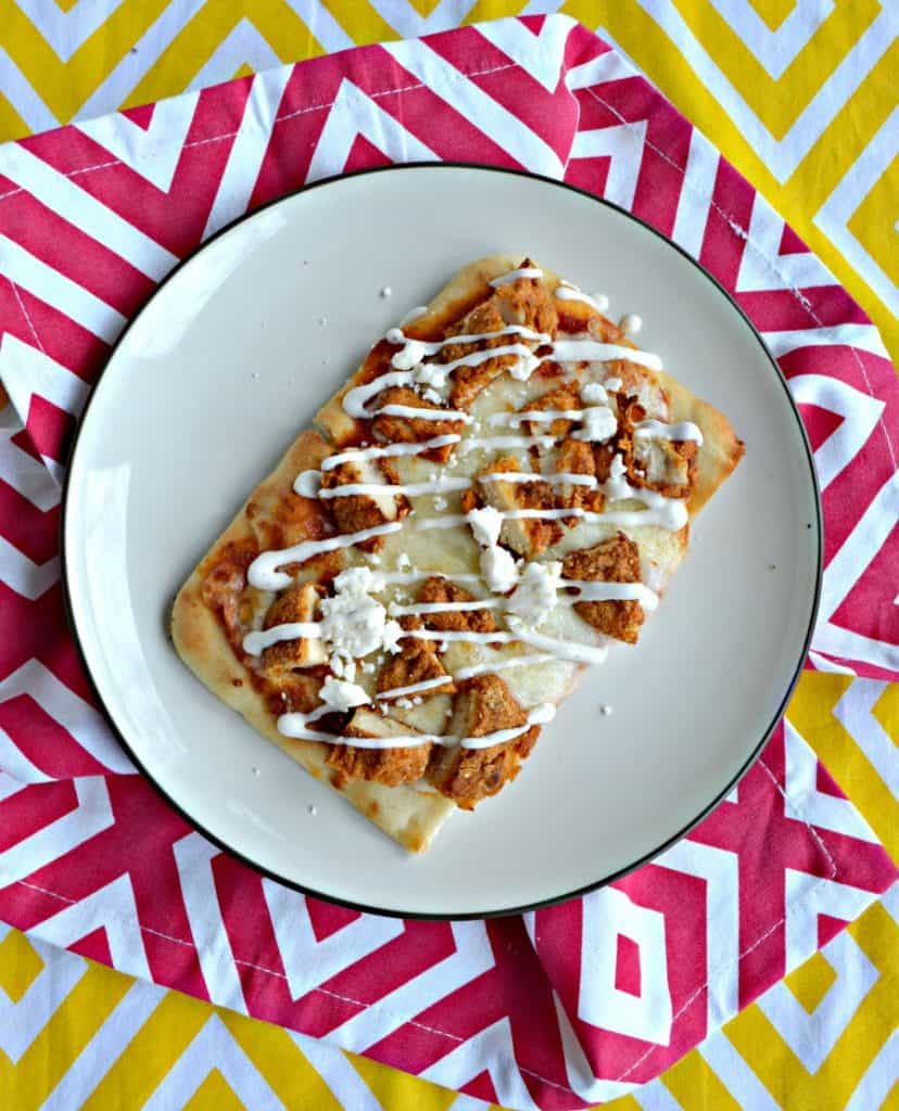 Air Fryer Flatbread Pizza