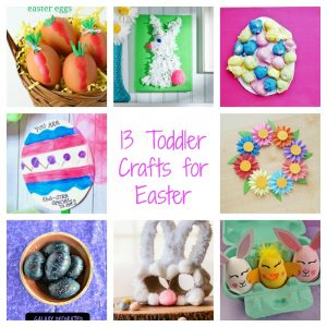13 Toddler Crafts for Easter :  Toddler Tuesdays