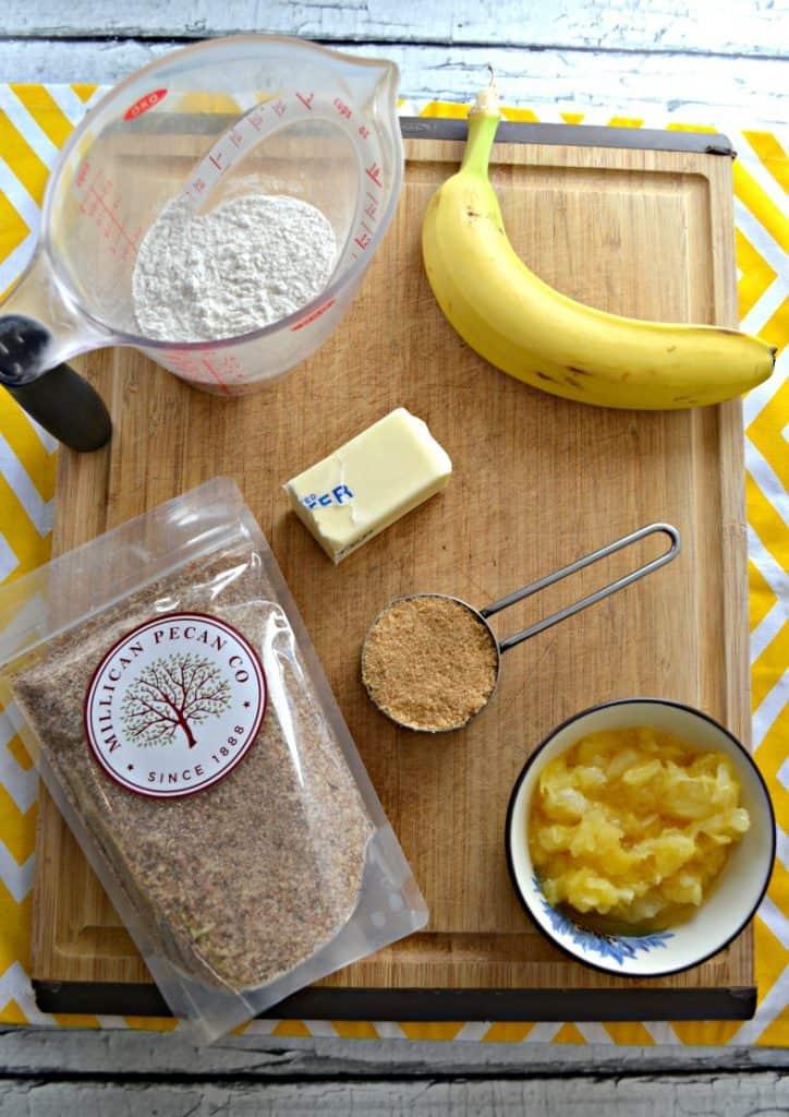 Ingredients for Hummingbird Pancakes