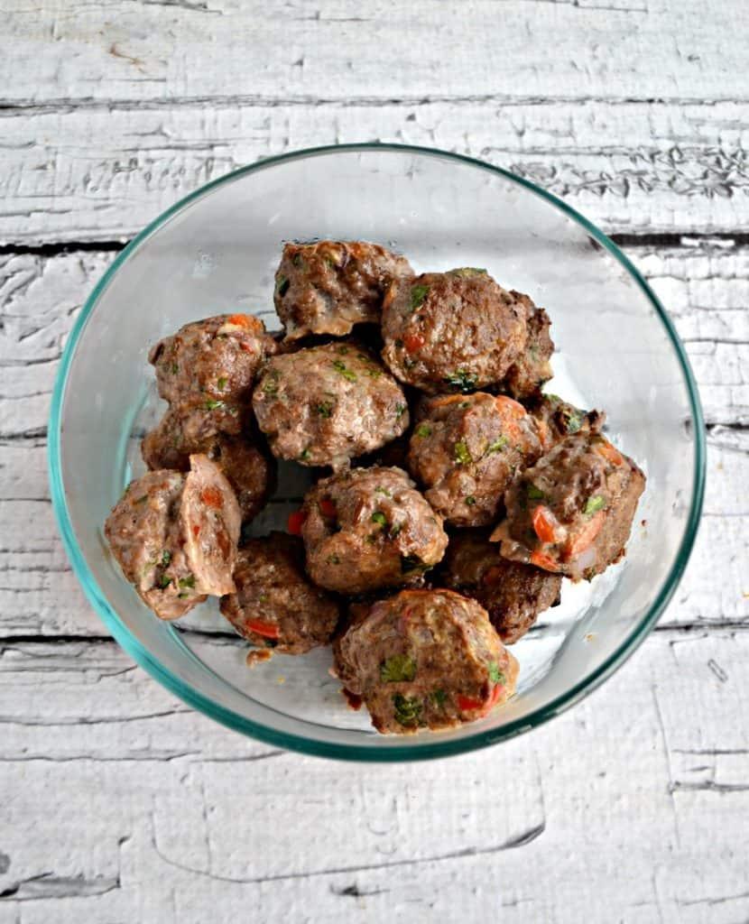 Bahn Mi Meatballs