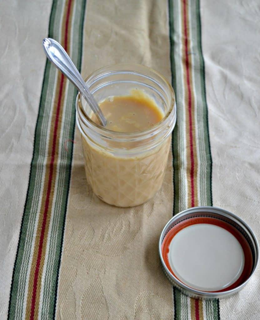 Homemade Butterscotch Creamer
