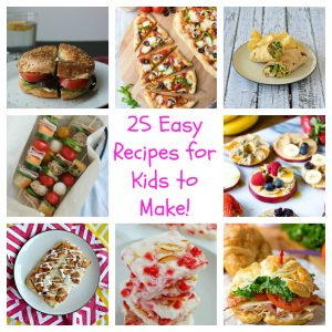 25 Easy Recipes for Kids to Make!