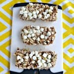 No Bake Granola Bars with White Chocolate and Lemon CBD