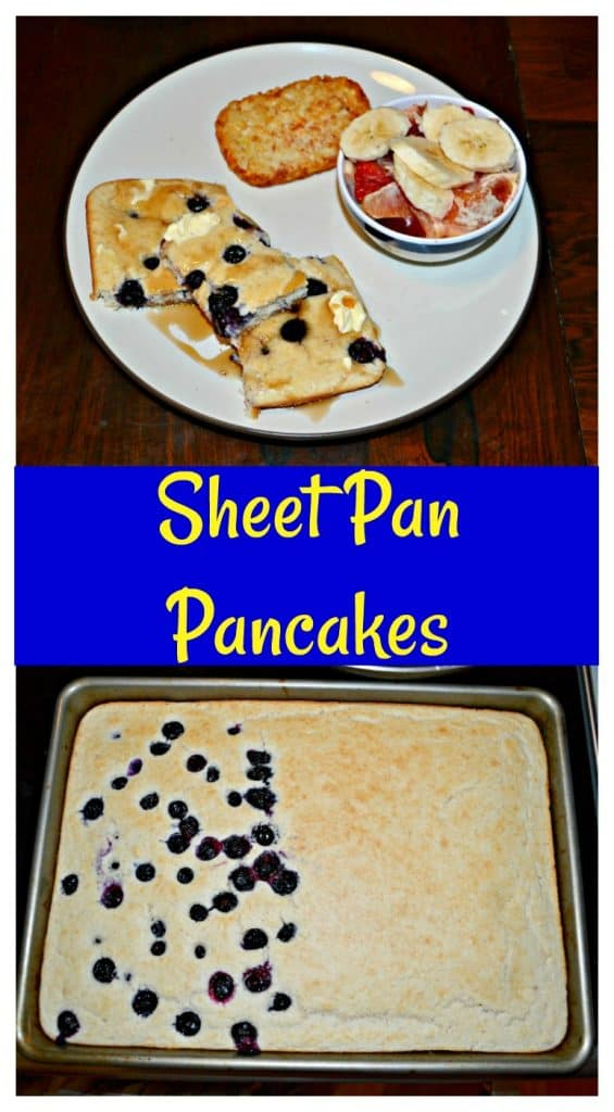 Customize your Sheet Pan Pancakes