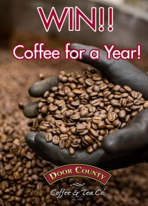 Win Door County Coffee for a Year Giveaway + 3 Recipes Using Coffee