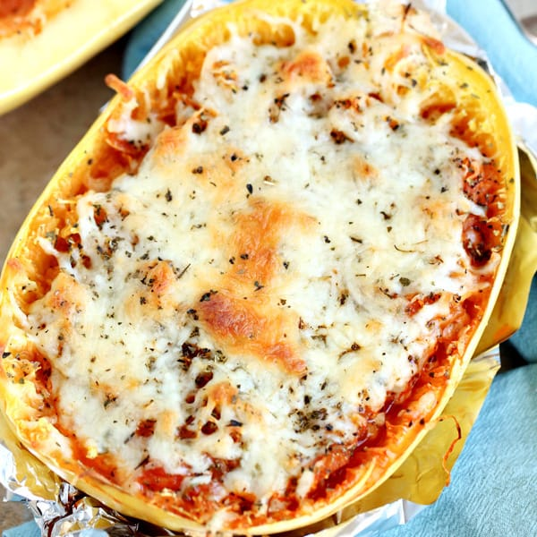 Easy 3-Ingredient Twice-Baked Spaghetti Squash