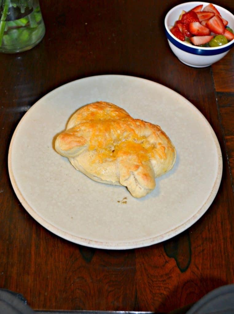 Garlic Cheddar Soft Pretzel