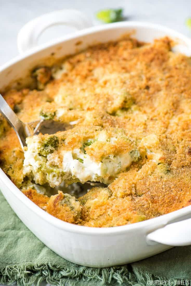 Easy Broccoli and Cheese Casserole