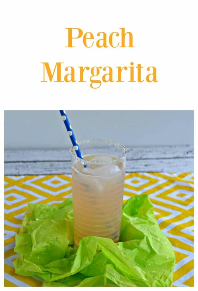 Refreshing Peach Margarita