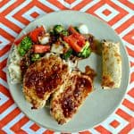 Sesame Crusted Pork with Sweet & Sour Sauce