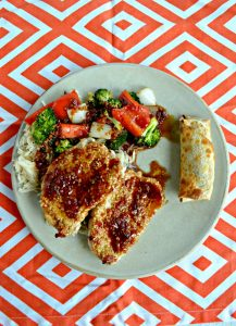 Sesame Pork Chops with Sweet and Sour Sauce