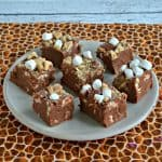 Old Fashioned S'mores Fudge