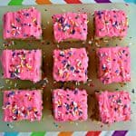 Easy Funfetti Cake Batter Cookie Bars
