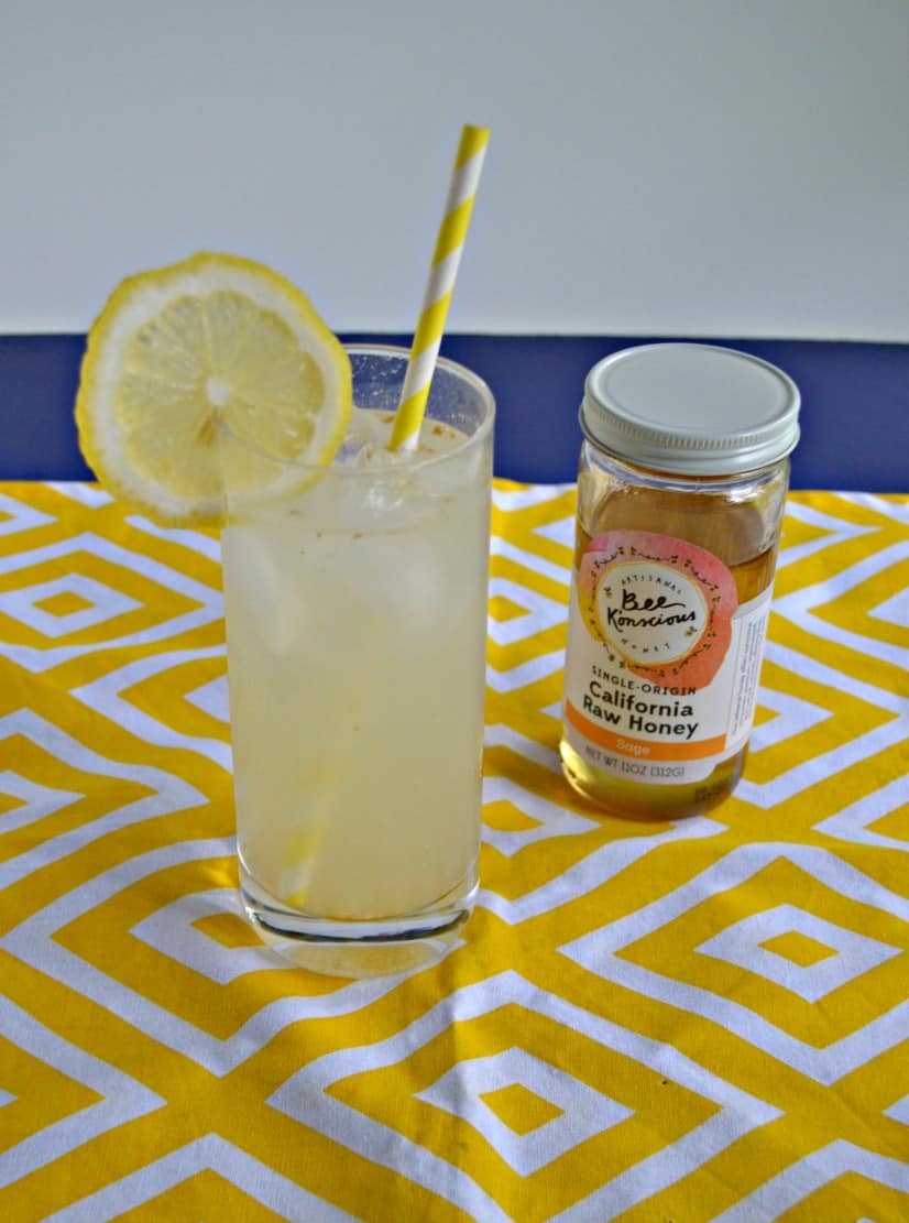 Honey Ginger Lemonade Hezzi D S Books And Cooks