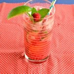 Raspberry Mojitos