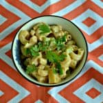 Sweet and Spicy Barbecue Chicken Macaroni Salad