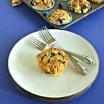 Blueberry Muffins with Walnut Streusel