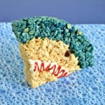 Shark Head Rice Krispies Treats