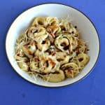 Tortellini with Walnut Sage Butter