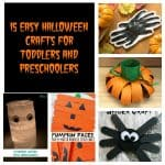 15 Easy Halloween Crafts for Toddlers and Preschoolers:  Toddler Tuesdays