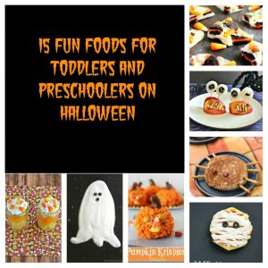 15 Fun Foods for Toddlers and Preschoolers on Halloween:  Toddler Tuesdays