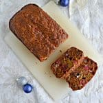 Spiced Persimmon Bread with Cranberries and Pecans