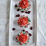 Cranberry White Chocolate Cupcakes