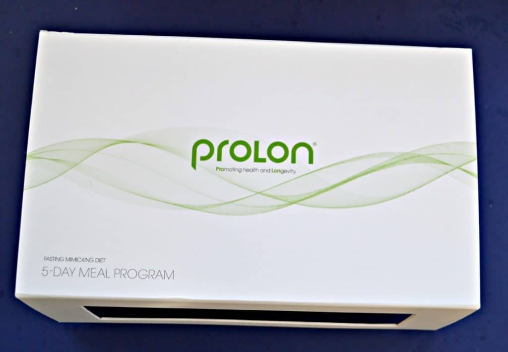 White box with green waves and PROLON in green