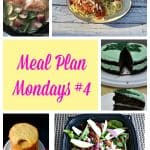 Meal Plan Mondays #4 :  Easy Recipes for Weeknight Meals