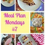 Meal Plan Mondays #7:  Easy Recipes for Weeknight Meals