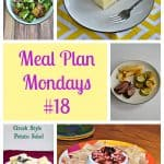 Meal Plan Mondays #18:  Easy Recipes for Weeknight Meals
