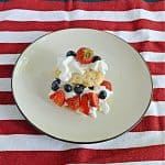 Red, White, and Blueberry Shortcakes