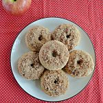 Apple Cider Donuts with Pecan Sugar Topping